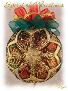 Spirit of Christmas ornament
