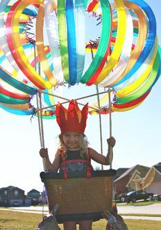 Hot air balloon costume balloons diy halloween costumes costume ideas kid costumes