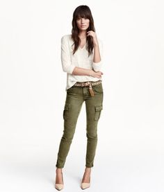 Lyocell-blend Cargo Pants | Product Detail | H&M