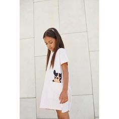Vestido de la colección de verano SS17 de la marca barcelonesa Tinycottons