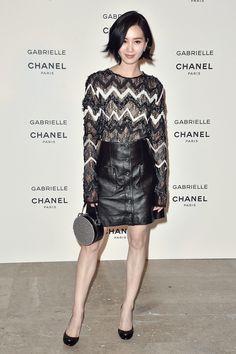 Liu Shishi attends Chanel Perfume Gabrielle Launch Party