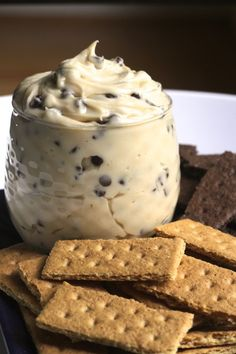 Creamy Chocolate Chip Cheesecake Dip Recipe on Yummly Cheesecake Dip, Chocolate Chip Cheesecake, Chocolate Chip Cookie Dough, Chocolate Chips, Chocolate Chip Dessert, Cookie Dough Dip, Easy Desserts, Delicious Desserts, Yummy Food