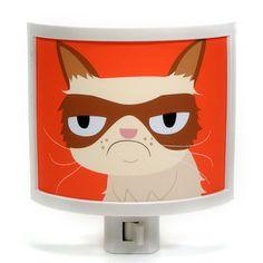 Grumpy Cat Night-Light, $22, now featured on Fab.