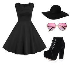 """""""Untitled #149"""" by abbyriver on Polyvore featuring Monki, women's clothing, women's fashion, women, female, woman, misses and juniors"""
