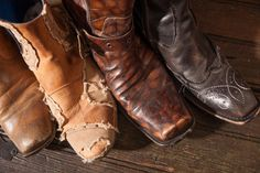 """Style Icon: Jon C. ""JC"" Conlin"" / B-Metro Magazine, June 2013 / These Mark Nason rocker-inspired boots add a bit of edge to office attire."
