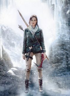 Rise of the Tomb Raider - Ice Cave by JadeJolie on DeviantArt