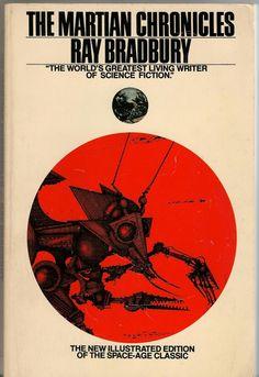 Cubierta de una edición de la novela Crónicas marcianas