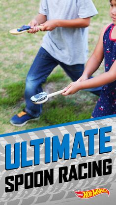 This Hot Wheels take on the Egg and Spoon Race offers all the fun and none of the mess. Get more party ideas here.