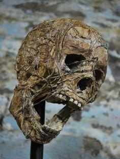quality bucky skull corpsed with liquid latex and cotton Outdoor Halloween, Halloween Season, Halloween Skull, Halloween Projects, Diy Halloween Decorations, Scary Halloween, Halloween Themes, Diy Halloween Props, Halloween Ideas