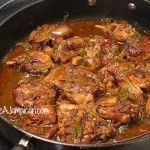 Jamaican Brown Stew Chicken Recipe (video)