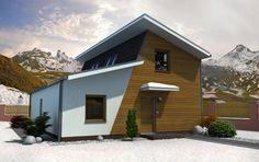 Návrh domu Solo od APEX ARCH s.r.o. Garage Doors, Shed, Outdoor Structures, Outdoor Decor, Home Decor, Decoration Home, Room Decor, Home Interior Design, Carriage Doors