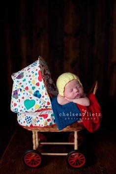 Stone Oak newborn photographer, San Antonio, newborn in a pram, carriage, baby stroller, newborn portraits, baby photos, sweet baby pictures