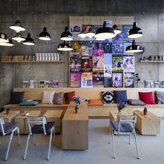 Coffeecompany Oosterdok, Amsterdam, 2013 - Ninetynine