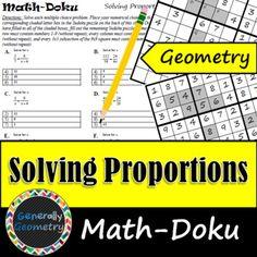 Pythagorean Theorem Math Doku Right Triangles Geometry Sudoku