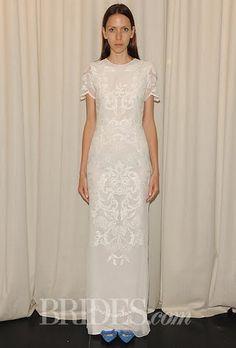Houghton Wedding Dresses - Fall 2014 - Bridal Runway Shows   Brides.com