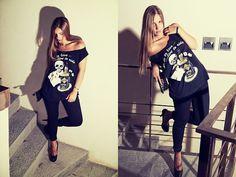 Rock n roll (by Federica Romani) http://lookbook.nu/look/3984210-rock-n-roll