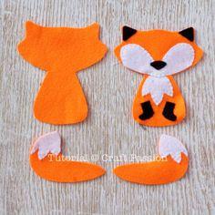 freddy fox felt sewing