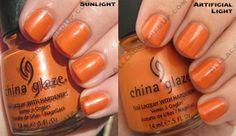 Code Orange / China Glaze Operation Colour for Fall 2008