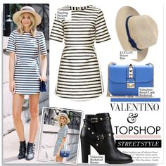 Valentino & Topshop Street Style... by nfabjoy on Polyvore featuring moda, Valentino, Topshop, women's clothing, women's fashion, women, female, woman, misses and juniors