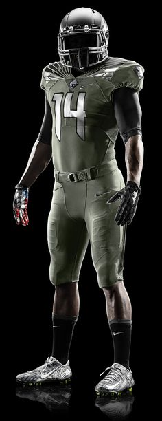 2014 Oregon Spring Football Uniform - Home Olive Design