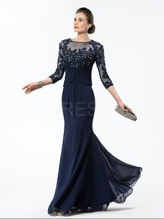 Hot selling Jewel Appliques/Sequins Mother Of The Bridal Dress Mother of the Bride Dresses 2014- ericdress.com 10870085
