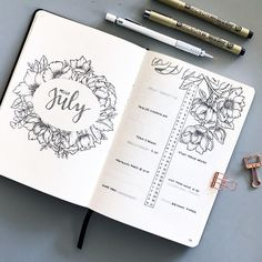 """Mi piace"": 604, commenti: 49 - K (@bumblebujo) su Instagram: ""I'm still in the process of setting up my August spread, I'm so behind . In the meantime, I don't…"""
