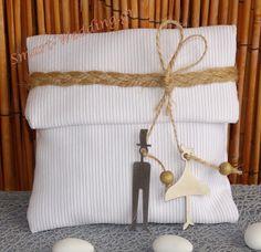 Μπομπονιέρα γάμου φάκελος με γαμπρό και νύφη