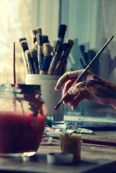Mi mundo=dibujar y pintar