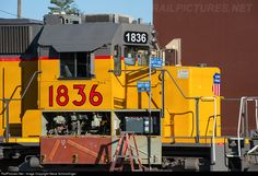 RailPictures.Net Photo: UP 1836 Union Pacific SD40N at Roseville, California by Steve Schmollinger