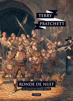 Nouvelle édition ! Ronde de nuit de Terry Pratchett, Les Annales du Disque-monde (livre 29, 2018) ©Paul Kidby / Leraf