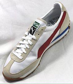Playeras para hombre Puma Easy Rider 78 en abedul / Rojo lazo / Blanco - Talla 40: Amazon.es: Zapatos y complementos
