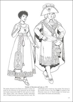 Empire Fashions Coloring Book | Additional Photo (Inside Page)