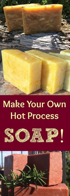 Have you ever wanted to try making your own natural hot process soap? Here is a detailed hot process photo tutorial! If you've every wanted to learn how to make natural soap of your own, you've got to check out these complete directions! Hot process soap is fast to make, and the soap turns out beautifully! The essential oil scents last a long time, too! With hot process soap, you alleviate the curing time so you can use it right away! Here are complete instructions for how to make hot…