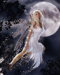 Angel glitter animated