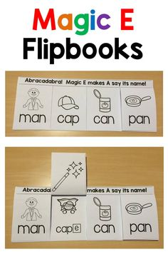 Love these Magic E flipbooks!