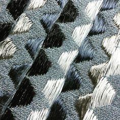 #weave #weaving  #RCA #textiles #mohair #metal