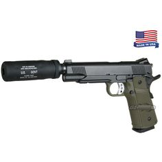 Airsoft GI Tactical Assassin Airsoft Gun ( OD ) ($20) ❤ liked on Polyvore featuring weapons and guns