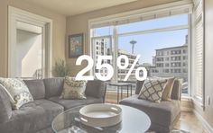 76% of Downtown Seattle condos sold in September had full price or above asking price offers. 12 of those sales sold for more than 10% or higher. Read more.