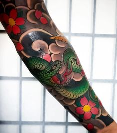 "6,524 Likes, 11 Comments - Japanese Ink (@japanese.ink) on Instagram: ""Japanese tattoo sleeve by @ningtattoo. #japaneseink #japanesetattoo #irezumi #tebori #colortattoo…"""