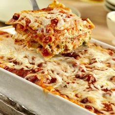 Garden Vegetable Lasagna Recipe - Campbell's Kitchen & ZipList