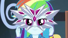 MLP. Shake Your Tail. Rainbow Dash's mask!!!
