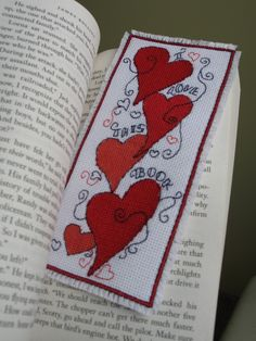 Bookmark Cross Stitch-to make for fathers day