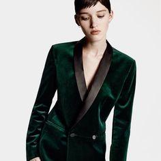 ec771472f4 Emerald green blazer. Love 😍 Trouser Suits
