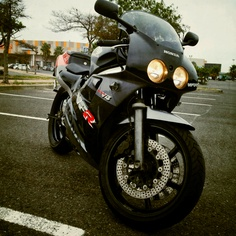 Vfr400 - kinda like this!  Dec 5th is coming up soon.