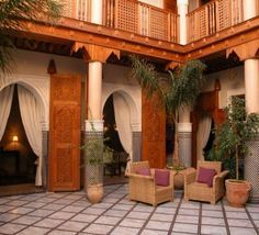 moroccan courtyard - Google Search