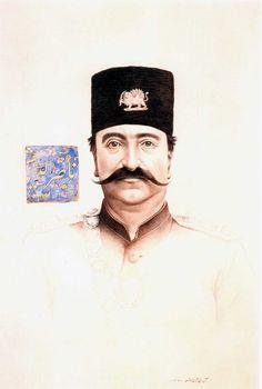 Aydin Aghdashloo- Naseredin Shah