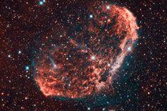 AAPOD² 9 November 2017 NGC 6888 (Crescent Nebula) bicolor By Luca Moretti http://www.apodx2.com/2017/20171109.html