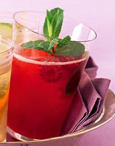 Himbeer-Minze-Eistee - Erfrischungsgetränke für den Sommer - [LIVING AT HOME]