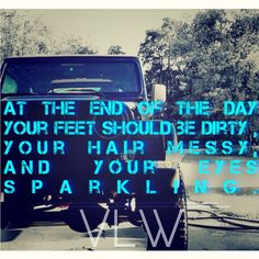At the end of the day your feet should be dirty, your hair messy, and your eyes sparkling! Jeep life    Please leave tags @violet161819  #VLW