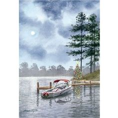 Christmas Cards Lakeside Serenity 18 per box NEW in Collectibles, Holiday & Seasonal, Christmas: Current (1991-Now) | eBay